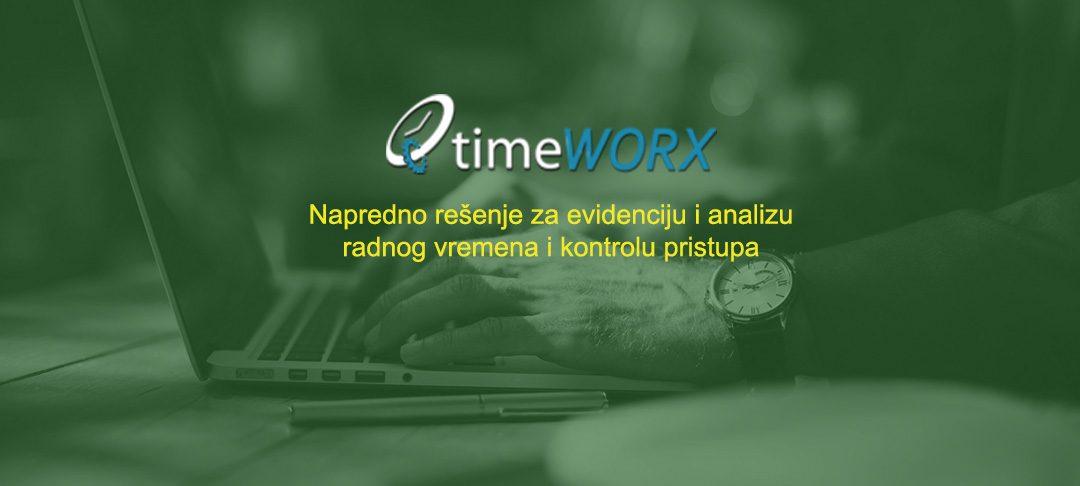 timeWORX – Napredno rešenje za evidenciju i analizu radnog vremena i kontrolu pristupa